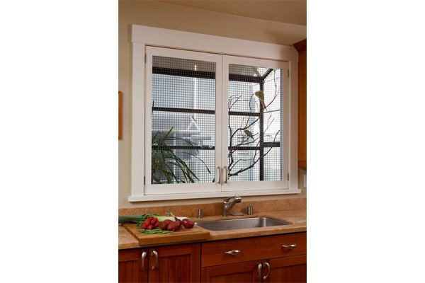 bird cage kitchen window