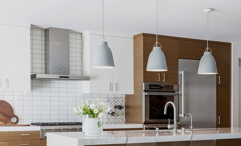 task lighting in a kitchen