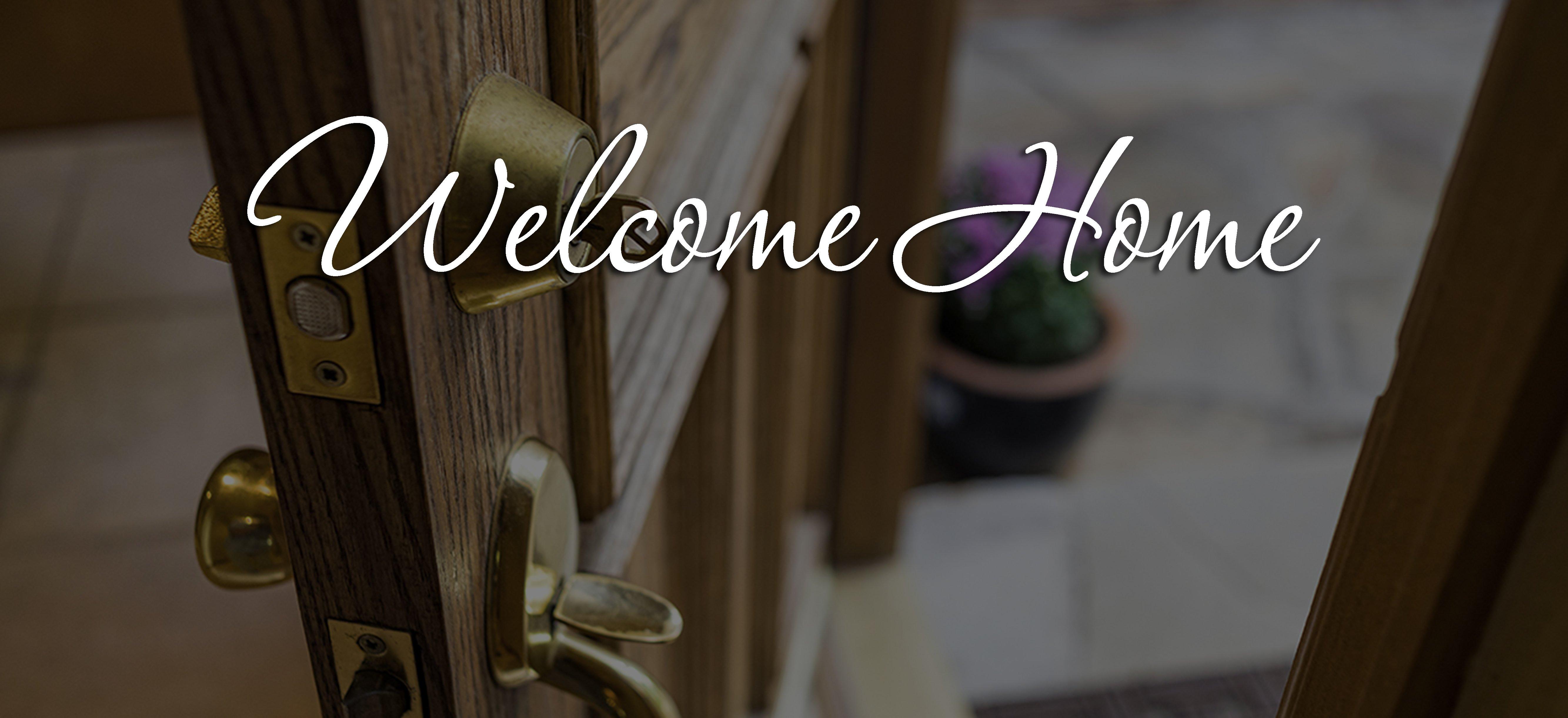 open door - welcome home